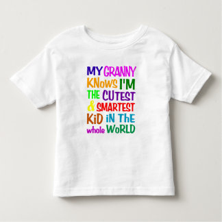 My Granny Knows shirt - choose style