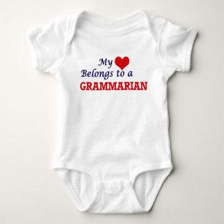 My heart belongs to a Grammarian Shirt