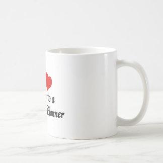 My heart belongs to a wedding Planner Basic White Mug
