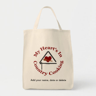 My Heart's In Country Cooking Bag