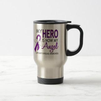 My Hero Is My Angel Alzheimer's Disease Stainless Steel Travel Mug
