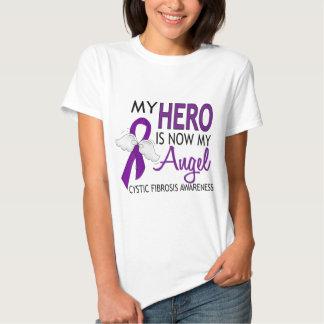 My Hero Is My Angel Cystic Fibrosis T Shirt