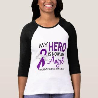 My Hero Is My Angel Pancreatic Cancer Tees