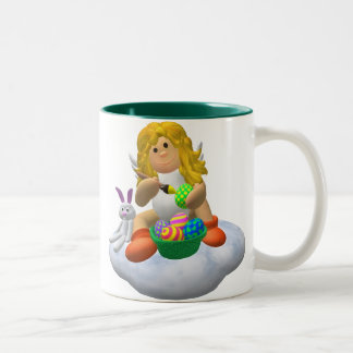 My Little Angel: Easter Time 10 Two-Tone Mug