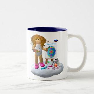 My Little Angel: Easter Time 2 Two-Tone Mug