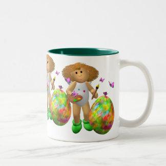 My Little Angel: Easter Time 5 Two-Tone Mug