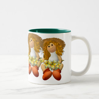 My Little Angel: Springtime Two-Tone Mug