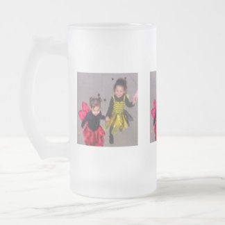 My Little Bugs Frosted Glass Mug
