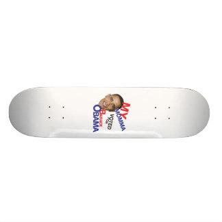my momma voted for obama skate decks
