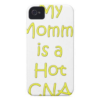 My mommy is a hot cna iPhone 4 Case-Mate cases