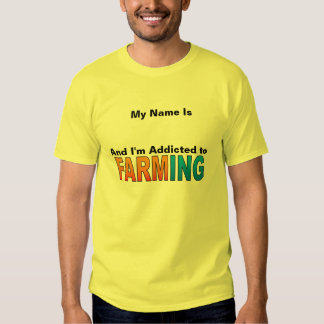 My Name Is( ADD YOUR NAME) And I'm Addicted Tshirt