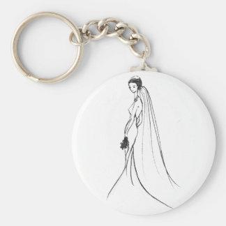 My New York Wedding Basic Round Button Key Ring