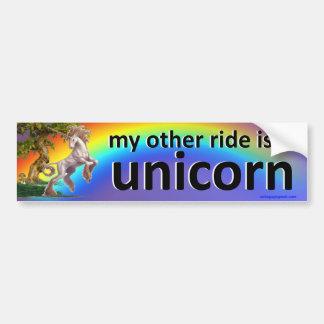 my other ride bumper sticker