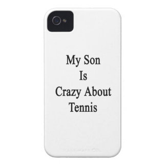 My Son Is Crazy About Tennis iPhone 4 Case-Mate Case