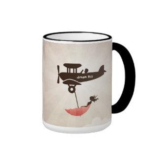 My Tuesday Dream - Umbrella Fantasy Ringer Mug
