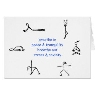 My Yoga Mantra Card