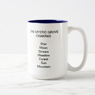 Mystic Grove Chakras Coffee Mug