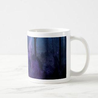Mystic Night Basic White Mug