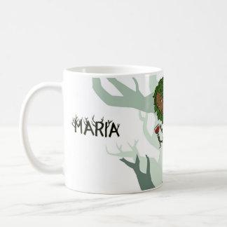 Mythmugs - Maria Basic White Mug
