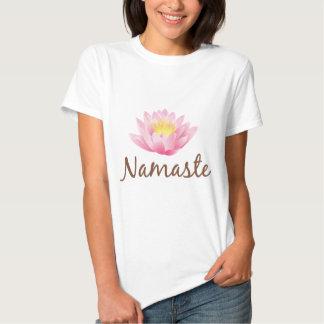Namaste Lotus Flower Yoga Tees