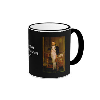 Napoleon Bonaparte 2 Ringer Mug