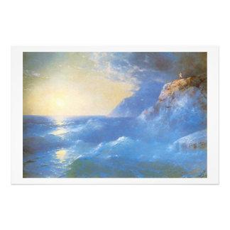 """""""Napoleon on Island of St Helen"""" Art Photo"""