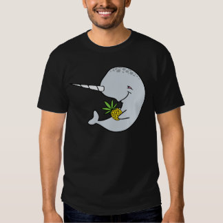 Narwhal Pineapple Shirt