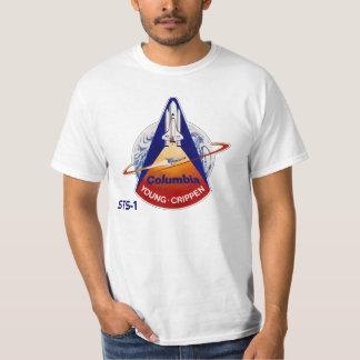 NASA STS-1 SPACE SHUTTLE TEE SHIRT