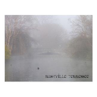 Nashville Tennessee Fog Postcard