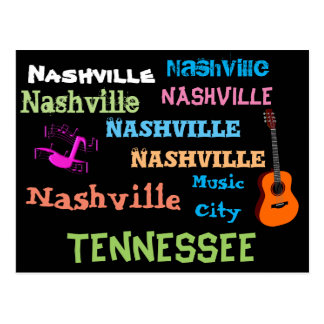 Nashville Tennessee - postcard