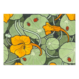 "Nasturtium & Ladybird ""Just for You"" Pack Of Chubby Business Cards"