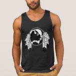 Native Art Tank Top Men's Native Wildlife Shirt