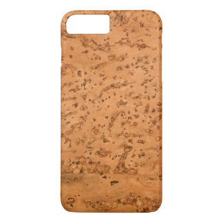 Natural Cork Look Wood Grain iPhone 7 Plus Case
