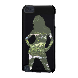 Nature Girl Silhouette iPhone Case