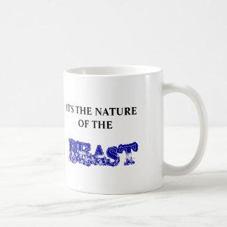 NATURE OF THE BEAST BASIC WHITE MUG