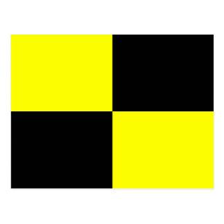 Nautical Alphabet Flag Signal Letter L Postcard