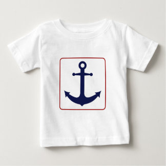 Nautical Anchor - Red White and Blue T Shirts