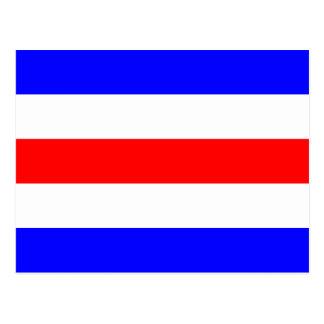 Nautical Flag Signal Letter C (Charlie) Postcard