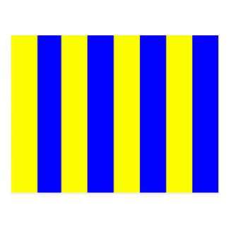 Nautical Flag Signal Letter G (Golf) Postcard