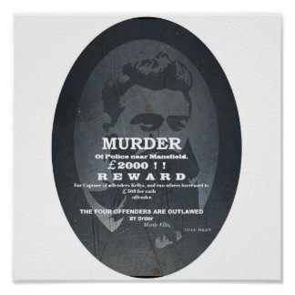 Ned Kelly Reward Poster