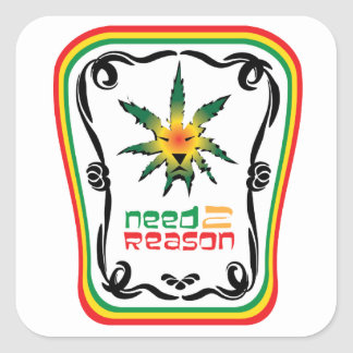 Need2Reason Classic Square Sticker
