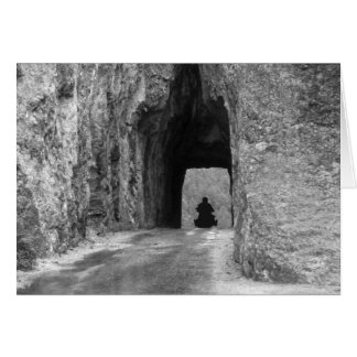 Needles Highway Tunnel Greeting Card