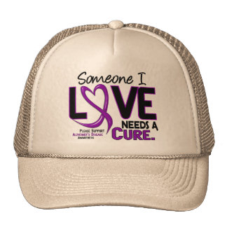 NEEDS A CURE 2 ALZHEIMER'S DISEASE TShirts & Gifts Cap