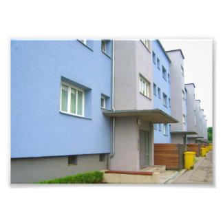 Neighborhood in Augsburg Germany Photo Print