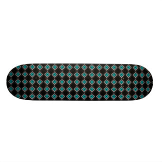 Neon Diamonds Skateboard