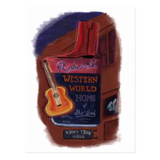 Neon on Broadway Nashville Tennessee - Postcard