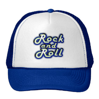 Neon Rock and Roll Cap