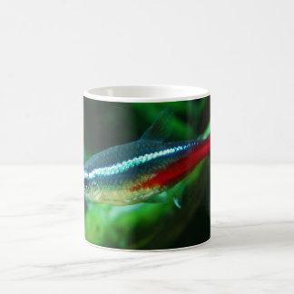 Neon Tetra Fish Paracheirodon Innesi Basic White Mug