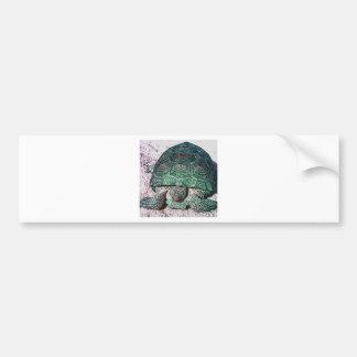 Neon Turtle Bumper Sticker