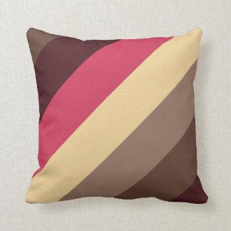 Neopolitian Stripe Color combination Pillow Cushion